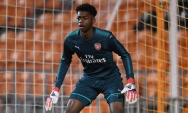 Rohr considers calling up Arsenal's third choice goalie Arthur Okonkwo for Nations Cup qualifiers