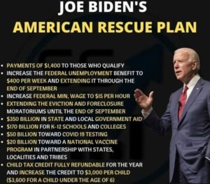 Looking at Joe Biden's $1.9trn Covid-19 rescue package I desperately want African leaders to request an international development element to the programme