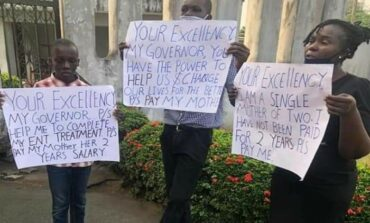 Tragedy avoided as Cross River State magistrate slumps while protesting two year salary arrears