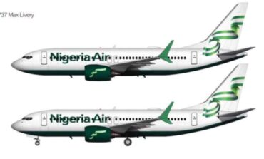 Federal governments sets aside $203m to launch national carrier Nigeria Air later this year