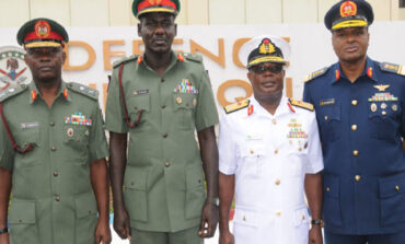 Buhari finally appoints new service chiefs as insecurity keeps rising across Nigeria