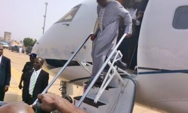 Bola Tinubu returns to Nigeria after a month abroad where it is believed he went for medical treatment
