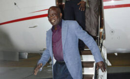 Tinubu arrives in the UK for vacation debunking claims that he tested positive for coronavirus