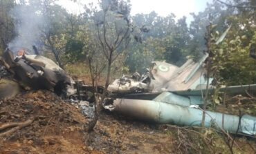 Military aircraft enroute to Minna crashes in Abuja killing all onboard after reporting engine failure