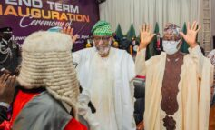 Akeredolu takes oath of office for second term calling for the establishment of state police