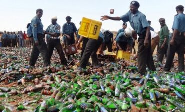 Bauchi State Hisbah Command confiscates 260 crates of alcoholic drinks as they defy Sharia law