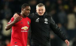 Ighalo says he does not believe Solskjaer was fair to him during his time at Man United