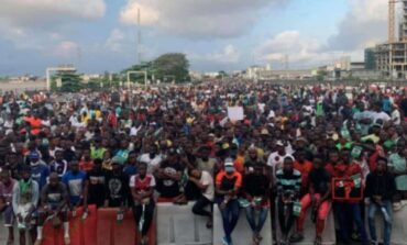 Nigerian governments vows that it will not tolerate fresh #EndSARS protests at Lekki Toll Gate