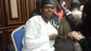 Abdulrasheed Maina's son embarrasses EFCC by jumping bail and fleeing to the US