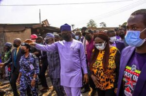 Governor Makinde orders the immediate re-opening of Shasha market as tension eases in Ibadan