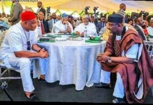 Rochas vows to show Uzodinma he has a stronger political base as Igbo governors sue for peace