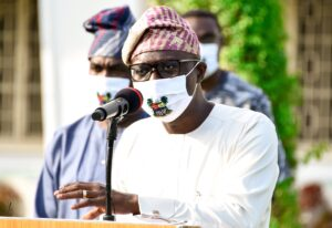 Sanwoolu signs new order punishing the failure to wear facemasks with six month jail term