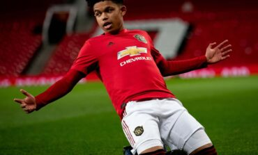 Shola Shoretire becomes the youngest ever Man United player to feature in a European game