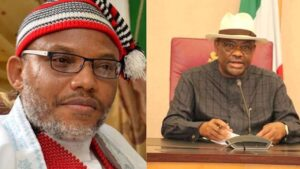 Nnamdi Kanu warns Wike that he will be hunted forever over the killing of Igbos in Obigbo