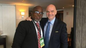 NFF president Amaju Pinnick elected by a landslide to Fifa's executive council at Caf summit