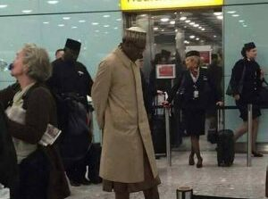 Buhari expected in London any moment from now as he plans two week medical vacation