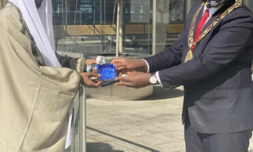 Former emir of Kano Lamido Sanusi praises mayor of Brent for his work with the less privileged