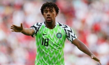 Iwobi cleared to play against Lesotho tonight after second coronavirus test comes out negative