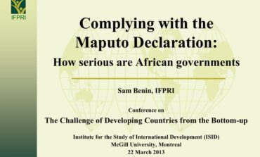 We should drag our 36 state governors to court and force them to adhere to the principles of the 2003 Maputo Declaration