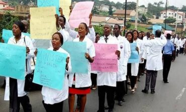 National Association of Resident Doctors to begin indefinite strike over salary arrears and Covid-19 hazard allowances