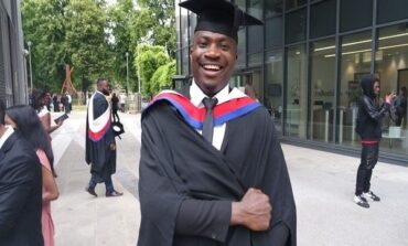 Niger Delta amnesty programme student bags MA with distinction from UK university