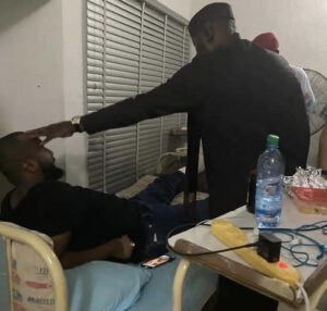 Rochas plans to fly his son-in-law abroad for treatment saying he survived an assassination attempt