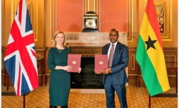 UK and Ghana sign bilateral trade deal that guarantees tariff-free movement of goods and services