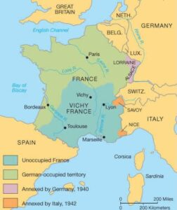 Even with German occupation during World War Two the French never considered secession as an option