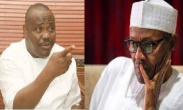 Wike says the insecurity across Nigeria came about as a result of his prayers against Buhari