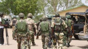 Traditional ruler arrested in Benue State after arms are discovered in his palace during army raid