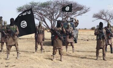 Boko Haram take over Kaure in Shiroro Local Government Area of Niger State and hoist flag there
