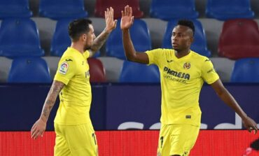Super Eagles winger Chukwueze voted man of the match as Villarreal beat Arsenal 2-1