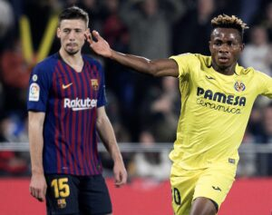 Villarreal manager Unai Emery confident Nigeria's Chukwueze will dump his former side Arsenal out of the Europa League