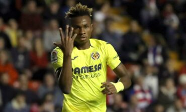 Arsenal join the race to sign Super Eagles winger Samuel Chukwueze at the end of the season