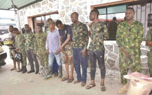 Seven serving army officers arrested in Zamfara for supplying bandits with weapons and information