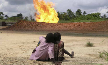 Nigeria and six other countries account for 65% of global gas flaring according to World Bank