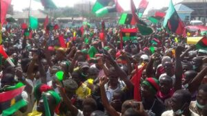 UK defends decision to offer Ipob and Massob members asylum saying it is an obligation