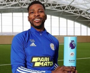 Kelechi Iheanacho voted English Premier League's Player of the Month for March