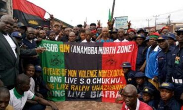 Massob rejects the UK's offer of political asylum describing it as a ruse to derail Biafra