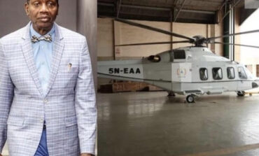 Nigerian Civil Aviation Authority grounds Pastorpruener Enoch Adeboye's private helicopter