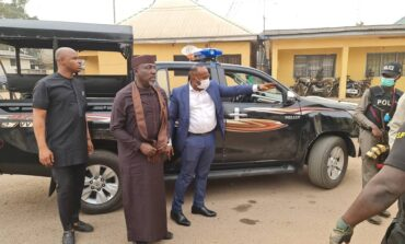 EFCC arrest Rochas in Abuja after he repeatedly shuns invitations to report to their office