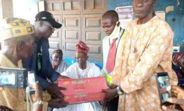 Shasha market traders receive relief from National Emergency Management Agency