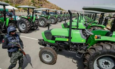 Nigeria's federal government to import 60,000 tractors in bid to expand agricultural output
