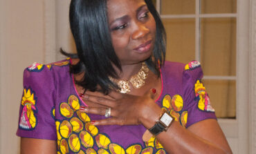 Abike Dabiri praises humanitarian group for delivering succour to the needy during these trying times