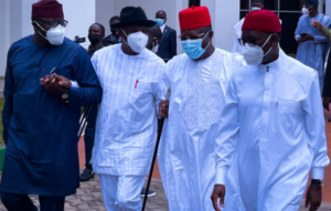 Southern Governors Forum to meet with Buhari as soon as he returns from France