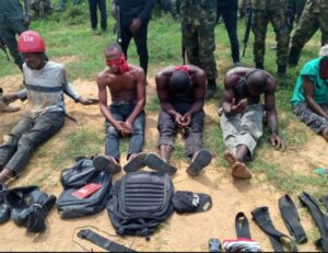 Government forces kill seven ESN fighters as they raid their camp in Rivers State