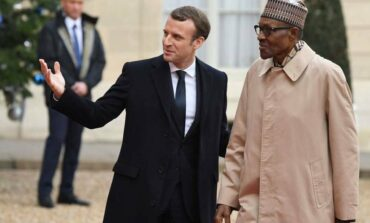 President Macron pledges French support for Nigeria in the fight against terrorism