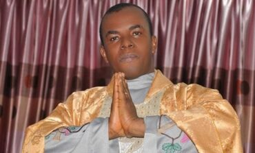 Reverend Father Mbaka apologises to Catholic Church after his supporters attack bishop's court