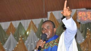 Reverend Mbaka said he was detained by Enugu catholic bishop for criticising Buhari