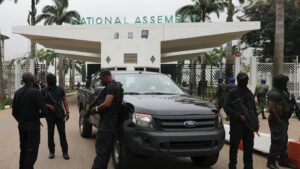 Security beefed up around National Assembly after reports of an imminent Boko Haram attack